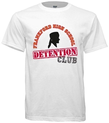 Frankford High Philadelphia Old School Detention Club Tee from www.retrophilly.com