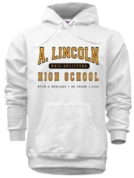Lincoln High Philadelphia Old School seatshirt from www.retrophilly.com