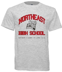 Northeast High Philadelphia Old School T-Shirt from www.retrophilly.com