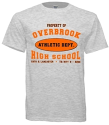 Overbrook High Philadelphia Old  School Athletic Department tees from www.retrophilly.com