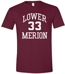 Kobe Bryant Lower Merion High Old School Tee from www.retrophilly.com