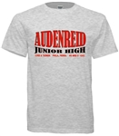 Vintage Audenreid Junior High Philadelphia Old School T-Shirt from www.retrophilly.com