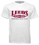 Leeds Junior High Philadelphia Old School T-Shirt from www.retrophilly.com