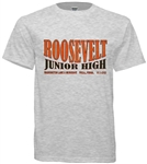 Roosevelt Junior High Philadelphia Old School T-Shirt from www.retrophilly.com