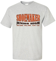 Shoemaker Junior High Philadelphia Old School T-Shirt from www.retrophilly.com
