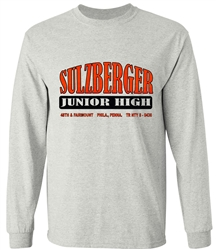 Sulzberger Junior High Philadelphia Old School T-Shirt from www.retrophilly.com