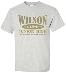 Wilson Junior High Philadelphia Old School T-Shirt from www.retrophilly.com