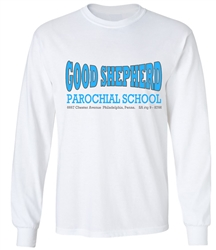 Good Shepherd Elementary Philadelphia Old School T-Shirt from www.retrophilly.com