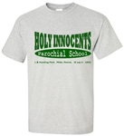 Holy Innocent Elementary Philadelphia Old School T-Shirt from www.retrophilly.com