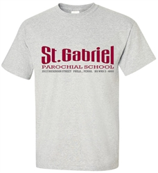 St Gabriel Elementary Philadelphia Old School T-Shirt from www.retrophilly.com