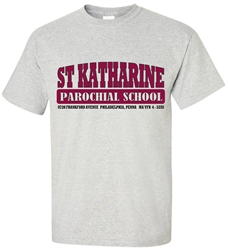Vintage St. Katharine Philadelphia Elementary Old School T-Shirt from www.retrophilly.com