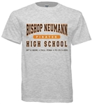 Vintage Bishop Neumann High Philadelphia old school t-shirt from www.retrophilly.com