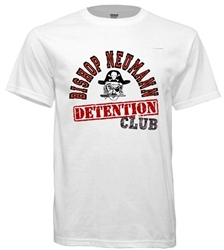 Vintage Bishop Neumann Pirates Philadelphia Old School Detention Club tee from www.retrophilly.com