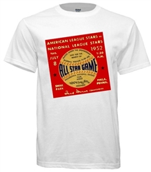 Vintage 1952 Philadelphia Phillies All-Star Game T-Shirt from www.retrophilly.com