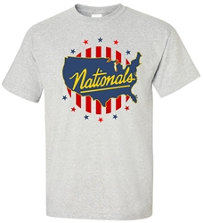 Vintage 1947-49 Syracuse Nationals Playback Tee from www.retrophilly.com