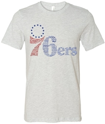 Vintage Philadelphia 76ers All-Time Team Tee from www.retrophilly.com