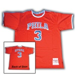 mitchell & ness 47-48 red klotz philadelphia sphas jersey from www.retrophilly.com