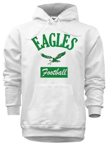 7fa1cf303 Vintage Philadelphia Eagles Throwback Hoody - RetroPhilly.com