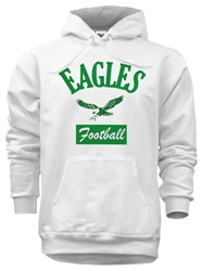 Vintage Philadelphia Eagles Throwback Hoody from www.retrophilly.com