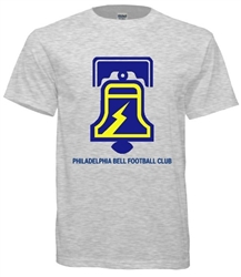 Vintage Philadelphia Bell WFL Football T-Shirt from www.retrophilly.com