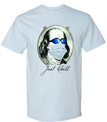 Ben Franklin Chillin' in 2020 Tee from www.retrophilly.com