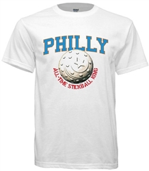 vintage philadelphia stickball tshirt from www.retrophilly.com