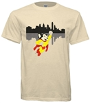 Vintage Mighty Mouse Saves Philadelphia T-Shirt from www.retrophilly.com