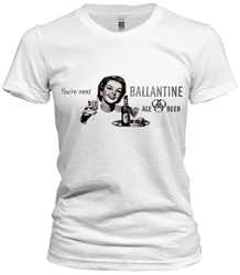 Vintage time for Ballantine t-shirt from www.retrophilly.com