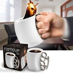 One Tough Philly Brass Knuckles Mug