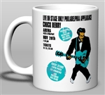 Vintage Chuck Berry at The Philadelphia Arena Mug from www.retrophilly.com