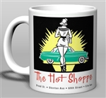 Vintage Hot Shoppe Car Hop Ceramic Mug from www.retrophilly.com