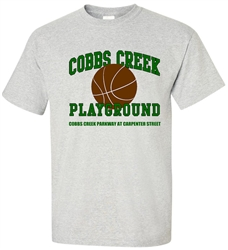 Vintage Cobbs Creek Playground Philadelphia T-Shirt from www.RetroPhilly.com