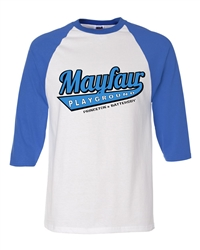 Vintage Mayfair Playground Philadelphia raglan tee from www.RetroPhilly.com