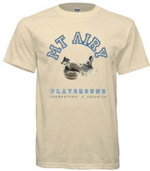 Vintage Mount Airy Playground Philadelphia T-Shirt from www.RetroPhilly.com