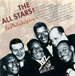 Louis Armstrong & The Jazz All-Stars in Philadelphia 1947-48 cd from www.retrophilly.com